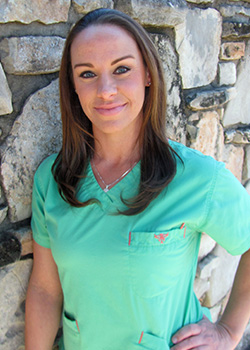 Dental Assistant Alison for Pediatric Dentist Dr. Rex Wildey in Kerrville, TX.