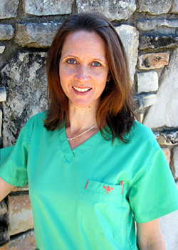 Office Manager Jana for Pediatric Dentist Dr. Rex Wildey in Kerrville, TX.