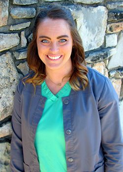 Schedule & Insurance Coordinator Jennifer for Pediatric Dentist Dr. Rex Wildey in Kerrville, TX.