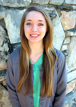Dental Assistant Katie for Pediatric Dentist Dr. Rex Wildey in Kerrville, TX.